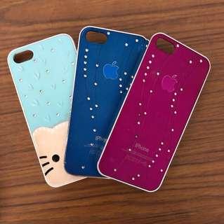 3 x iPhone 5 cases