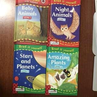Ladybird Books -bundle