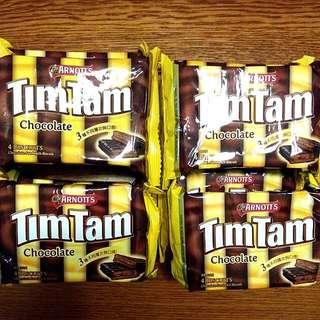 雅樂思Tim Tam巧克力夾心餅乾