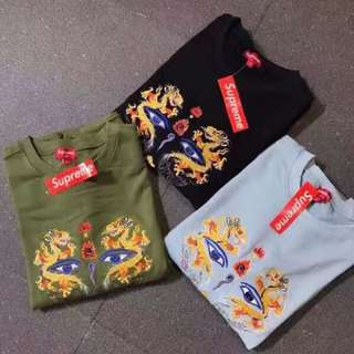 Supreme 🐉  Black/Pale Blue/Army Green