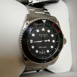 authentic GUCCI dive watch