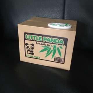 Electronic little panda money box