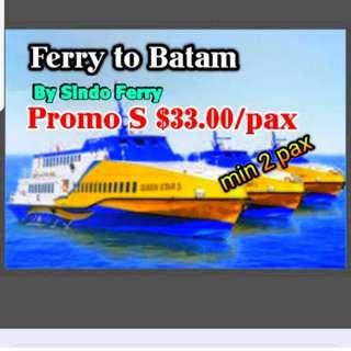Batam ferry tickets