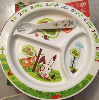 Avent plate 12M