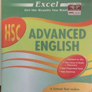 HSC ADVANCED ENGLISH BOOK