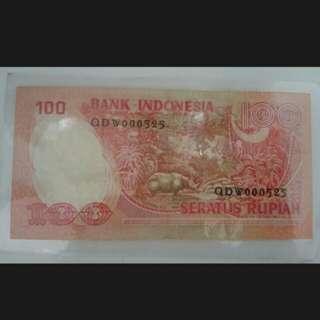 Uang kertas kuno tahun 1977
