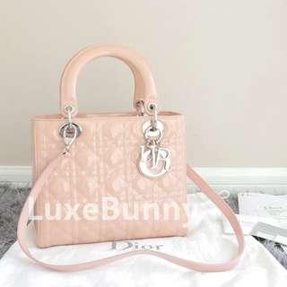 Authentic Dior Lady medium handbag
