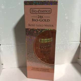 Bio-essence 24k Rose Gold Water