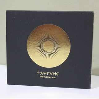 TAEYANG RISE 2nd Studio Album