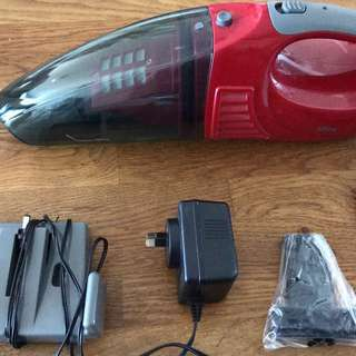 Hand held Tiffany portable wireless vacuum cleaner
