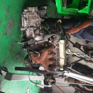 Engine 1.6 m24 buka dari halfcut