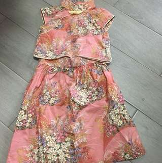 Baby Girl Cheongsam Set