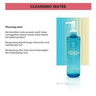 Scion Makeup Cleansing Water