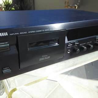 Yamaha cassette player