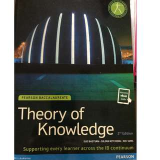 IB diploma Theory of Knowledge (TOK) textbook