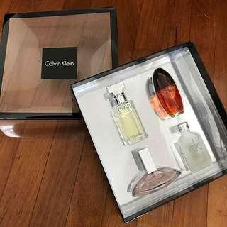 Authentic Calvin Klein Perfume Set