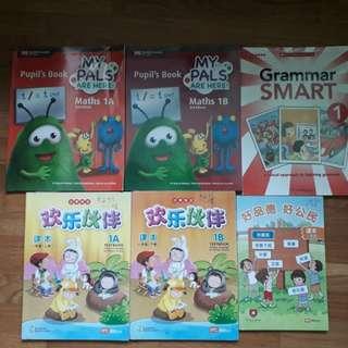 P1 textbooks