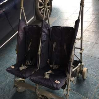 Baby twins stroller ( s cheery )