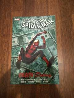 Amazing Spiderman TPB comic - death and dating