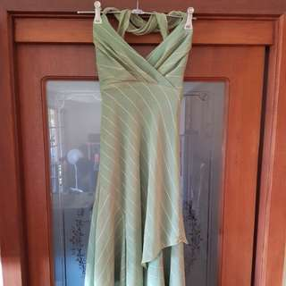 Garfunkle Evening dress Olive green