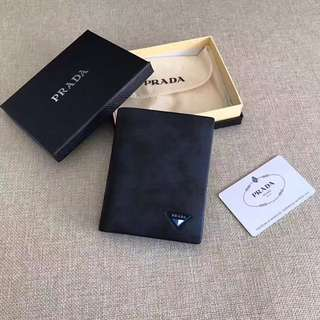PRADA Luxury Wallet Dark Blue