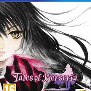 Selling PS4 Tales of Berseria