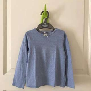 Blue top from mothercare