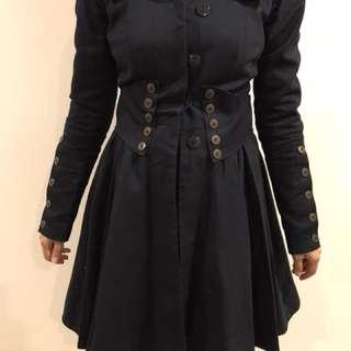 ASOS Navy coat