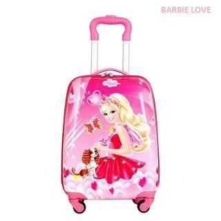Barbie Love Trolley Bag