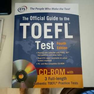 The official guide to the TOEFL test.  4th edition.