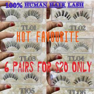 6 PAIRS for $20