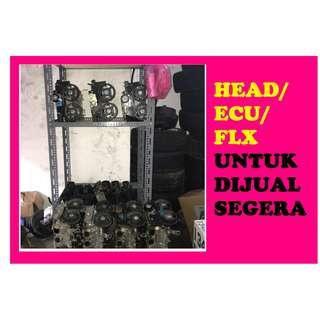 HEAD/ECU/FLX HENDAK DIJUAL SEGERA!!!(CALL/MESEJ/WHATSAP 012-9401926)