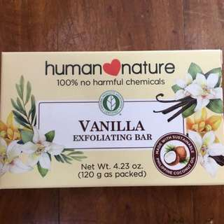 Human Nature Exfoliating Bar