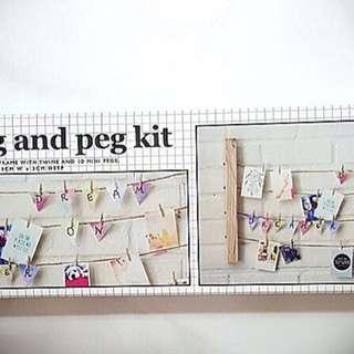 Typo Hang & Peg Kit