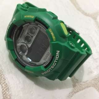 G-Shock Green watch GD-120TS-3, no can, no box
