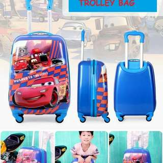 Cars Trolley Bag