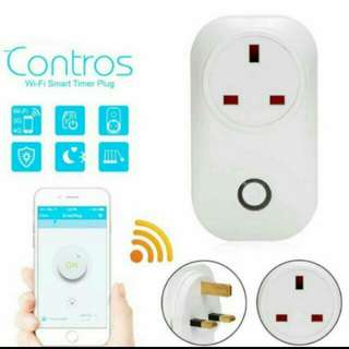 In stock WIFI Wireless Remote Control Smart Home Power Socket Plug UK Crypto Mining Rig