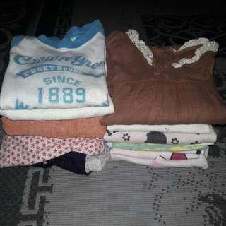 Girls Clothes / Mix Tshirt Blouse