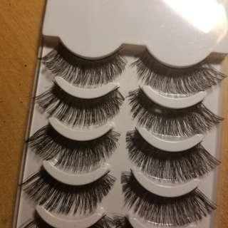 Fake Eyelashes 5 pairs