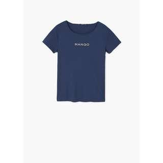 Mango -- Blue T-Shirt