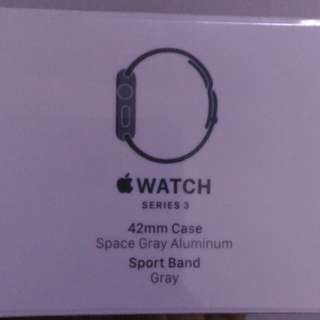 $518 New and Unopened Apple Watch Series 3 (Gray) 42mm