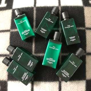 Hermes hair & body care