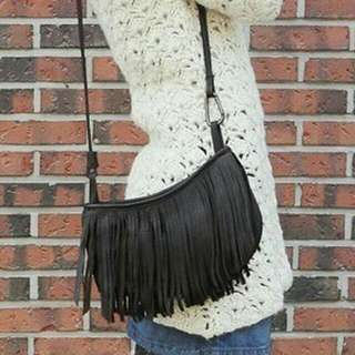 Fringe Sling Bag Korea (Tas Rumbai)