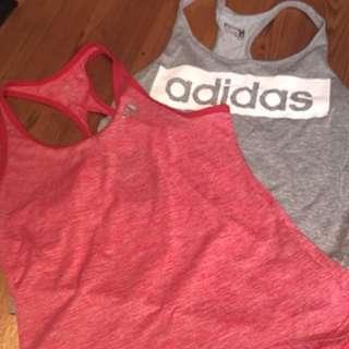 adidas running tops