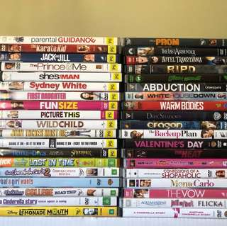 DVD's FOR SALE - ALL $5 EACH