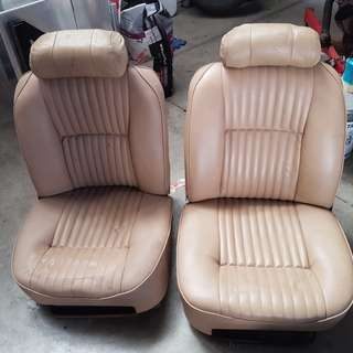 Jaguar bucket seats