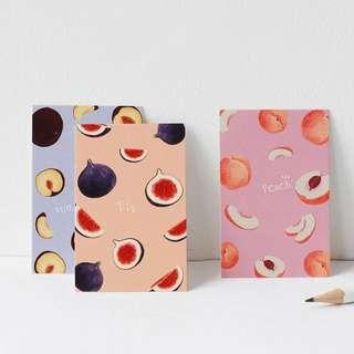 Cute Mini Lomo Postcards Of Fruit Illustrations (28 Types Of Fruit Cards  - Avocado / Banana / Papaya / Peach / Watermelon / Figs / Mangosteen / Pear / Blueberry / Lemon / Papaya / Pomegranate / Mango / Grapefruit / Apple / Loquat)
