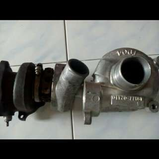 turbo car half cut