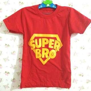 Super Bro Oshkosh Kaos Anak