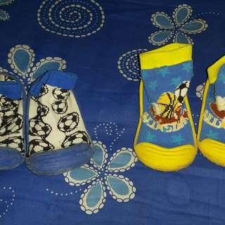 baby rubber sole socks